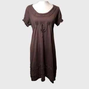 Chelsea & Violet Chocolate Brown Sweater Dress